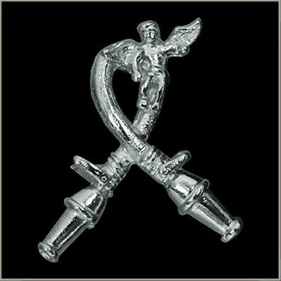 Firefighter Guardian Angel Polished Pin
