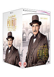 Agatha Christie's Poirot - The Complete Series 1-12 [DVD]