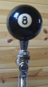 8-BALL-BEER-KEG-TAP-HANDLE-KEGERATOR-EIGHTBALL
