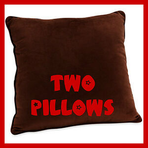 2PK THROW PILLOW accent decorative BROWN 18