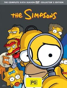 The Simpsons : Season 6 (DVD, 2007, 4-Di...