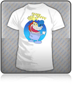REN AND STIMPY T-shirt Feat. STIMPY. Mens Sizes: S-XXL