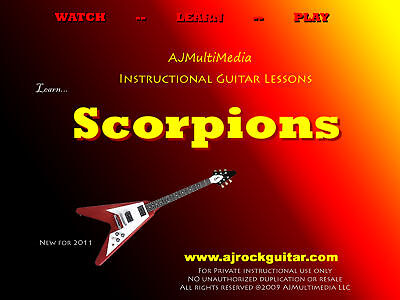 Custom Guitar Lessons, Learn Scorpions on Rummage