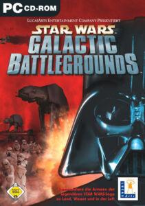 @ Star Wars : Galactic Battlegrounds - PC - in Original DVD Hülle