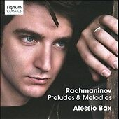 Rachmaninov-Preludes-Melodies-by-Alessio-Bax-Cd-2011-MINT