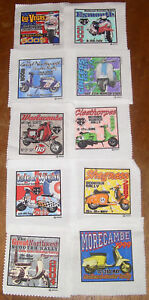 VARIOUS SCOOTER RALLY PATCHES  1999-2011