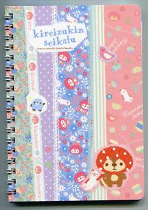 San-X-Kireizukin-Raccoon-Spiral-Notebook-Memo-1