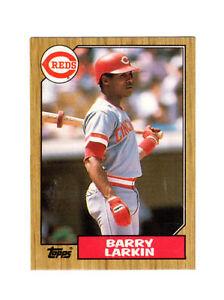 1987 Topps Barry Larkin Cincinnati Reds 648 Baseball Card