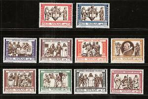 VATICAN-CITY-284-91-E15-6-MNH-ACTS-OF-MERCY-DRAWINGS