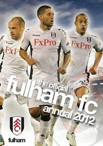 The Official Fulham FC Annual 2012,Fulham FC,New Book mon0000019482