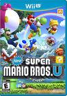New Super Mario Bros. Wii Nintendo Wii U Video Games