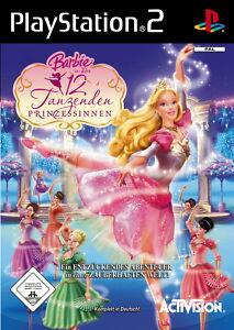 Barbie in Die 12 tanzenden Prinzessinnen für PS2 *TOP* (mit OVP)