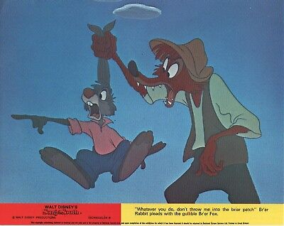 "Disney's SONG OF THE SOUTH  lobby  card print #5 - 8"" x 10"" inches"