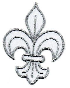 patch ecusson brod fleur de lys roi de france royal. Black Bedroom Furniture Sets. Home Design Ideas
