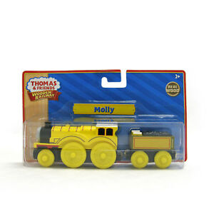 NEW IN BOX Thomas Tank Engine Train Wooden MOLLY Yellow