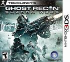 Tom Clancy's Ghost Recon: Shadow Wars  (Nintendo 3DS, 2012) (2011)
