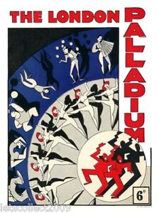 THE LONDON PALLADIUM REPRINT PROGRAMME COVER