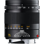 Leica  Summarit-M 75 mm   F/2.5  Lens For Leica