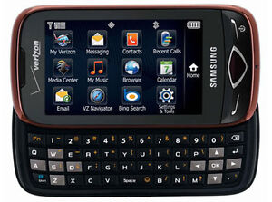 NEW-RED-SAMSUNG-REALITY-U820-QWERTY-KEYBOARD-TOUCH-SCREEN-GPS-CELL-PHONE