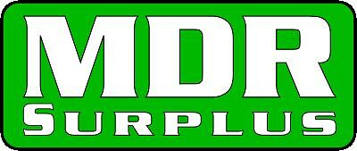 MDR Surplus Machinery and Equipment