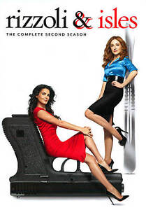 Rizzoli-amp-Isles-The-Complete-Second-Season-DVD-2012-4-Disc-Set-Sealed