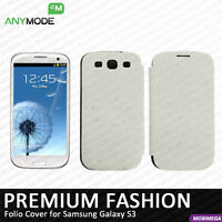 Anymode Leather Flip Cover for Samsung Galaxy S3