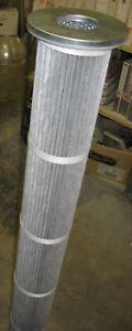 ENFA-STAUB-INTENSIV-plastic-process-hopper-dust-cartridge-FILTER-1m-L-160-diam