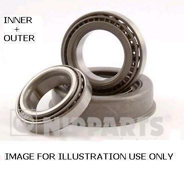 FOR NISSAN NAVARA PICKUP 2.5 DT D22 FRONT WHEEL BEARING KIT