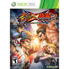 Microsoft Xbox 360 Street Fighter X Tekken Video Games