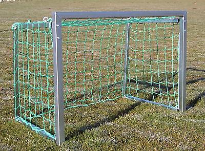 Fußballtor 1,20 x 0,8 m Stahl robust stabil m. Netz Fußball Tor Mini Kinder Ball