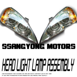 Head-Light-Lamp-Assembly-Set-For-05-11-Ssangyong-Kyron