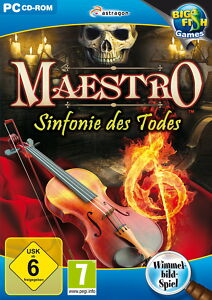 Maestro: Sinfonie des Todes (PC, 2011, DVD-Box) - <span itemprop='availableAtOrFrom'>Göppingen , Deutschland</span> - Maestro: Sinfonie des Todes (PC, 2011, DVD-Box) - Göppingen , Deutschland