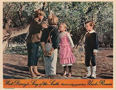 Disney's Song Of The South lobby card - vintage style repoduction print # 6