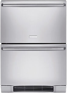Electrolux-EI24RD65HS-Stainless-Double-Drawer-Refrigerator-NEW-Display