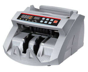 US SELLER ~ New Money Bill Counter With Counterfeit Detector UV & MG Counterfeit