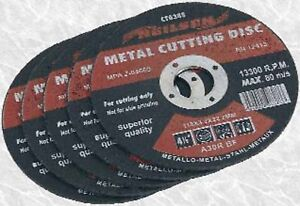 BRAND-NEW-PACK-OF-5-METAL-CUTTING-DISCS-BLADES-4-5-115MM