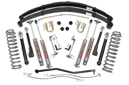 Jeep Cherokee XJ 4.5 Rough Country Suspension Kit