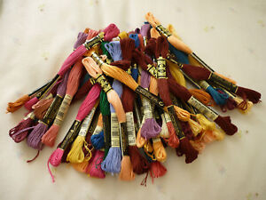 DMC-Threads-Pack-of-19-Skeins-New-Pick-Your-Own-Colours