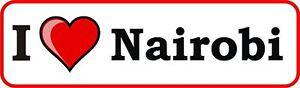 I-LOVE-NAIROBI-vinyl-bumper-sticker-decal-heart-gift