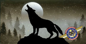 WOLF-custom-personalize-License-Plate-Free-Text
