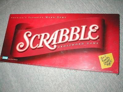 Scrabble Parker Brothers Hasbro Standard Recent Sealed