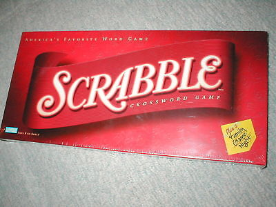 Scrabble Parker Brothers Hasbro Standard Recent Sealed