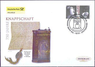 BRD 2010: Knappschaft! Post-FDC der Nr 2831 mit dem Berliner Sonderstempel! 1610