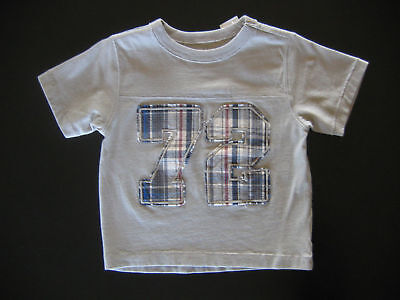 Children's Place 24 Month Gray Sports Shirt Number 72