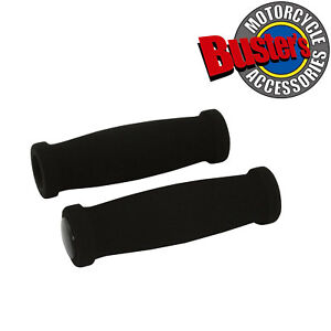 Black Foam Universal Motorcycle Grips For 7/8 inch Bars