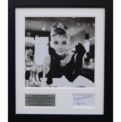 Audrey Hepburn - Signed tribute presentation