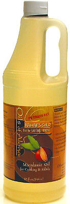 Macadamia Nut Cooking Oil Hawaii's Gold 3 / 32 Oz