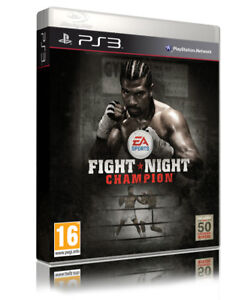 FIGHT NIGHT CHAMPION ROUND 5 PLAYSTATION 3 PS3 GAME PAL