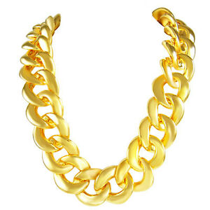 Thick-Rope-GOLD-CHAIN-OLD-SCHOOL-RAPPER-RUN-DMC-Bling