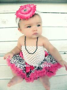 Baby-Hot-Pink-Leopard-Pettiskirt-White-Crochet-Tube-Top